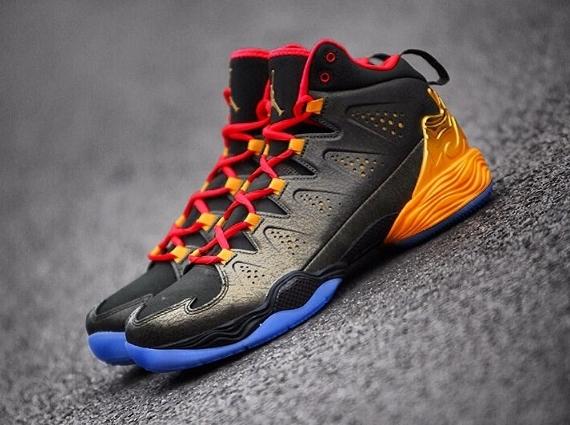 e335516e4453 Carmelo Anthony s Jordan All Star Kicks – The Sports Crave